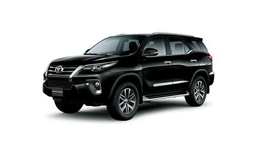 FORTUNER 2.7AT 4X4 color