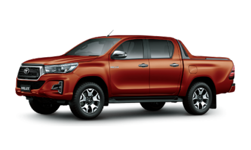 HILUX 2.4G 4X4 MT color