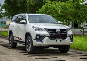 Doanh số bán hàng từ Toyota Việt Nam tháng 05/2019