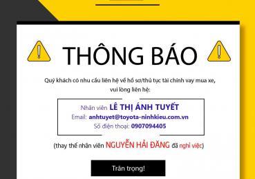 TRÂN TRỌNG THÔNG BÁO 09-03-2021