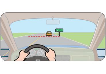 Tính khoảng trống khi lái xe để luôn có khoảng cách an toàn