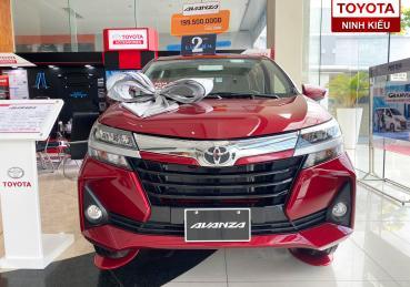 Toyota Avanza đỏ 2020 nâng cấp đặc biệt tại Toyota Ninh Kiều