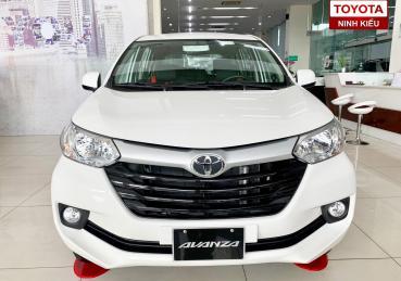 Toyota Avanza trắng nâng cấp đặc biệt chỉ có tại Toyota Ninh Kiều