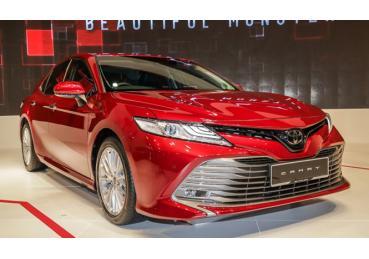 Toyota Camry mới tại Đông Nam Á đạt tiêu chuẩn an toàn 5 sao
