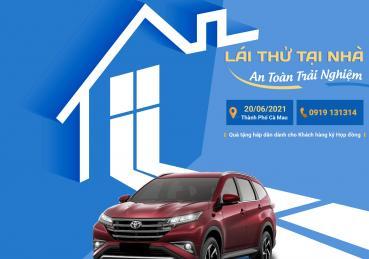 Toyota Ninh Kiều phục vụ khách hàng có nhu cầu lái thử xe trong mùa Covid