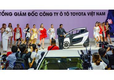 Toyota và màn trình diễn của hiện thực tại VMS 2018