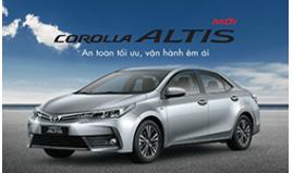 Toyota Việt Nam Giới Thiệu Corolla Altis Mới 2018