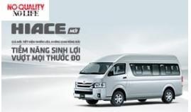 Toyota Việt Nam Giới Thiệu Hiace Phiên Bản Cải Tiến 2018